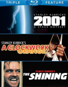 2001: A Space Odyssey / A Clockwork Orange / The Shining (Triple Feature)