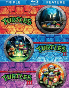 Teenage Mutant Ninja Turtles / Teenage Mutant Ninja Turtles 2 / Teenage Mutant Ninja Turtles 3 (Triple Feature)