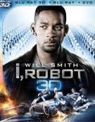 I, Robot 3D (Blu-ray 3D + Blu-ray + DVD)