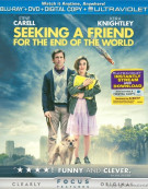 Seeking A Friend For The End Of The World (Blu-ray + DVD + UltraViolet + Digital Copy)