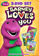 Barney: Barney Loves You (3 Pack)