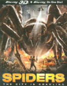 Spiders 3D (Blu-ray 3D + Blu-ray)