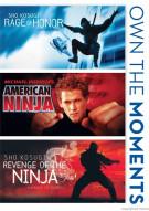 Rage Of Honor / American Ninja / Revenge Of The Ninja (Triple Feature)