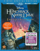 Hunchback Of Notre Dame, The: 2 Movie Collection (Blu-ray + DVD Combo)
