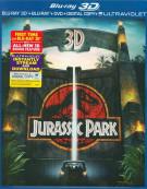 Jurassic Park 3D (Blu-ray 3D + Blu-ray + DVD + Digital Copy + UltraViolet)