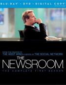 Newsroom, The: The Complete First Season (Blu-ray + DVD + Digital Copy)