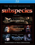 Subspecies / Bloodstone: Subspecies II / Bloodlust: Subspecies III (Triple Feature)