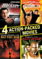 Belly Of The Beast / Half Past Dead / Half Past Dead 2 / The Medallion (4 Action-Packed Movies Collection)