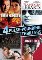 Under Suspicion / Random Hearts / Against All Odds / Jagged Edge (4 Pulse-Pounding Thrillers)