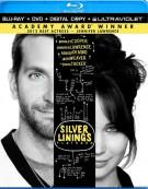 Silver Linings Playbook (Blu-ray + DVD + Digital Copy + UltraViolet)