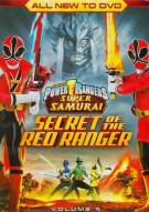 Power Rangers Super Samurai: The Secret Of The Red Ranger - Volume 4