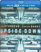 Upside Down (Blu-ray 3D + Blu-ray + DVD Combo)