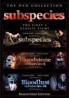 Subspecies / Bloodstone: Subspecies II / Bloodlust: Subspecies III (Triple Feature)