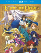Legend Of The Legendary Heroes: The Complete Series (Blu-ray + DVD Combo)