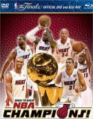 2013 NBA Championship: Highlights (Blu-ray + DVD Combo)