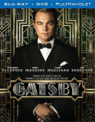 Great Gatsby, The (Blu-ray + DVD + Ultraviolet)