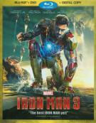 Iron Man 3 (Blu-ray + DVD + Digital Copy)