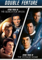 Star Trek III: The Search For Spock / Star Trek IV: The Voyage Home (Double Feature)