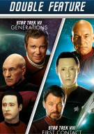 Star Trek VII: Generations / Star Trek VIII: First Contact (Double Feature)