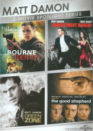 Matt Damon: 4-Movie Spotlight Series