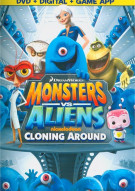 Monsters Vs. Aliens: Cloning Around (DVD + Digital Copy + Game App)