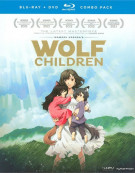 Wolf Children (Blu-ray + DVD Combo)