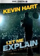 Kevin Hart: Let Me Explain (DVD + UltraViolet)