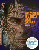 Investigation Of A Citizen Above Suspicion: The Criterion Collection (Blu-ray + DVD Combo)
