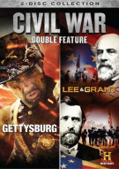 Civil War Collection, The: Gettysburg / Lee Grant (Double Feature)