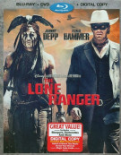 Lone Ranger, The (Blu-ray + DVD + Digital Copy)