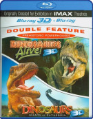 3D Dinosaurs Alive! / 3D Dinosaurs: Giants Of Patagonia (Prehistoric Powerhouses Double Feature)