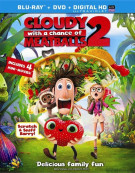 Cloudy With A Chance Of Meatballs 2 (Blu-ray + DVD + UltraViolet)