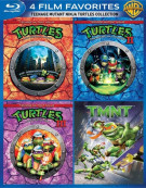 4 Film Favorites: Teenage Mutant Ninja Turtles Collection