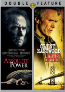 Absolute Power / True Crime (Double Feature)