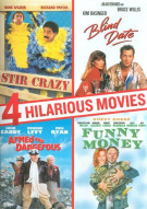 Armed And Dangerous / Blind Date / Stir Crazy / Funny Money (4 Hilarious Movies Collection)