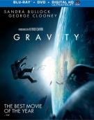Gravity (Blu-ray + DVD + UltraViolet)