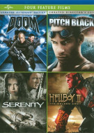 Doom / Pitch Black / Serenity / Hellboy II: The Golden Army
