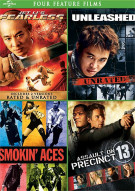 Jet Lis Fearless / Unleashed / Smokin Aces / Assault On Precinct 13