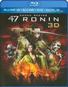 47 Ronin 3D (Blu-ray 3D + Blu-ray + DVD + UltraViolet)