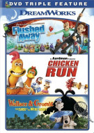 Flushed Away / Chicken Run / Wallace & Gromit (Triple Feature)