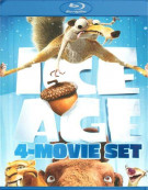 Ice Age: 4 Movie Set