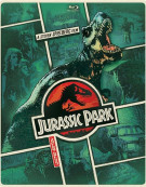 Jurassic Park (Steelbook + Blu-ray + DVD + UltraViolet)