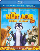 Nut Job 3D, The (Blu-ray 3D + Blu-ray + DVD + UltraViolet)
