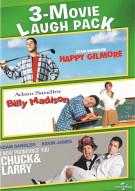 Happy Gilmore / Billy Madison / I Now Pronounce You Chuck & Larry (3 Movie Laugh Pack)
