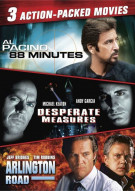 88 Minutes / Desperate Measures / Arlington Road (Triple Feature)