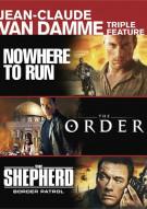 Jean-Claude Van Damme: Nowhere to Run / The Order / The Shepherd: Border Patrol (Triple Feature)