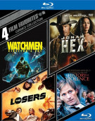 4 Film Favorites: Comic Collections