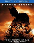 Batman Begins (Blu-ray + DVD + UltraViolet)