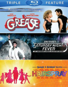 Grease / Saturday Night Fever / Hairspray (Triple Feature)