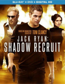 Jack Ryan: Shadow Recruit (Blu-ray + DVD + Digital Copy + UltraViolet)